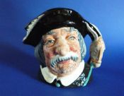 Small Royal Doulton 'Sancho Panca' Character Jug D6461